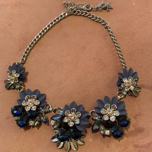 Vera Wang flower necklace